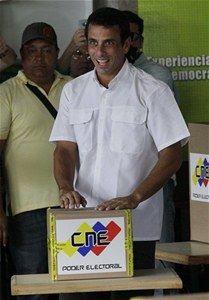 Henrique votando