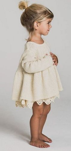 Tween Fashion, Fashion Children, Toddler Outfits, Girl Outfits, Little White Dresses, Signature Style, Diy Clothes, Little Ones, Oak Street