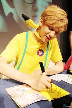Just right first fan autograph session!It was a happy Sunday with I GOT7!