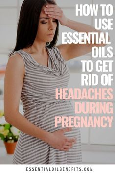 Essential Oils You Can Use For Headache Relief In Pregnancy When you're pregnant, it's important to be safe with essential oils. So today I want to share how you can use essentials to get rid of headaches during pregnancy. Essential Oils When Pregnant, Essential Oils For Migraines, Essential Oils For Pregnancy, Oils For Sinus, Therapeutic Essential Oils, Are Essential Oils Safe, Sinus Headache Relief, Oil For Headache, Doterra Oil For Cough