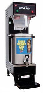 Cecilware 3 Gallon Iced Tea Brewer w/ B-1/3T Dispenser CEW-TB3 by Grindmaster Corporation. $619.00. 120V, cord and NEMA 5-15P plug included. 5 minute brew time. UL and NSF Listed. The high performance Cecilware TB3 iced tea dispenser brews 3 gallons of crisp delicious iced tea in only 6 minutes flat It features a low temperature lockout system that will prevent brewing until the water has reached its proper temperature so that you can always count on consisten...