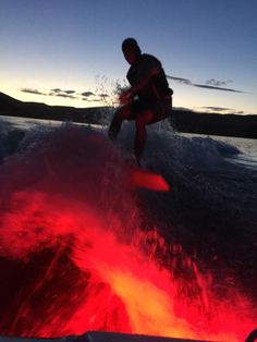 Night Surfing with Lifeform LED