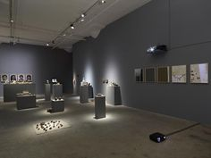 Trisha Baga, Installation View, Orlando, Greene Naftali, New York, 2015…