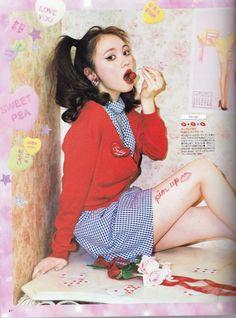 Harajuku Fashion, Japan Fashion, Kawaii Fashion, Cute Fashion, Sweet Fashion, Fashion Poses, Fashion Outfits, Fashion Magazine Cover, Fashion Catalogue