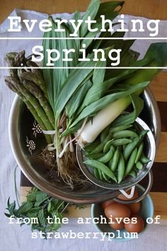 dozens of spring recipes & cooking inspiration