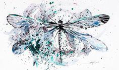 Les aquarelles danimaux de Norvile Dovidonyte  Dessein de dessin