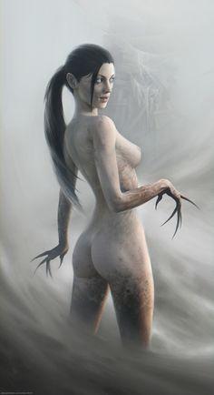 MELODIE - morbidfantasy21: Alp – fantasy/horror concept by...