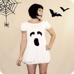 Halloween Costume: Ghost Dress