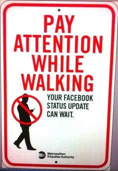 The best piece of NYC street art ever.  A social etiquette campaign from artist Jay Shells.