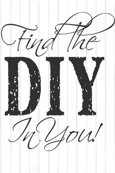 Want new ways to learn how to do DIY projects?  I'm sharing my plans for the website, tutorial and videos ideas.  Let's learn together.