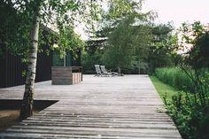 43 strakke tuin ideeën   Ik woon fijn Landscape Plans, Garden Landscape Design, Free Garden Design Software, Tiny House, Organic Lawn Care, Yoga Garden, Sod Installation, Composting At Home, Small Vegetable Gardens