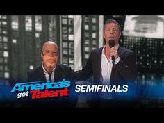 Paul Zerdin: Ventriloquist Turns Howie Mandel into a Doll - America's Got Talent 2015 - YouTube