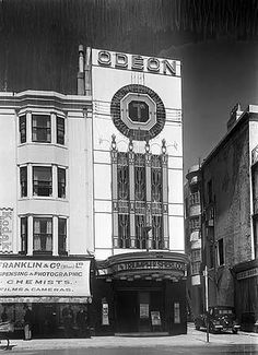 Long before the days of multiplexes, blockbusters and films, Odeon cinema commissioned architectural photographer John Maltby in the to capture images of some high street gems Brighton East Sussex, Brighton Rock, Brighton And Hove, Brighton Photography, Images Of England, Architectural Photographers, Old Street, Vintage Travel Posters, Old Pictures