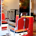 130414-velvet-jyvaskyla-barber-shop_0 Barber Shop, Velvet, Chair, Shopping, Furniture, Home Decor, Barber Salon, Recliner, Homemade Home Decor