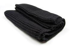 Black Infinity Scarf, Knit, Mens, Womens , Chunky, Circle Scarf