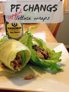 PF Changs Copycat Lettuce Wraps; radmomcoolkid.com