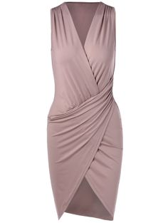 Bodycon Dresses | Elegant V-Neck Sleeveless Pleating Fitted Party Dress #summer #fashion #dress