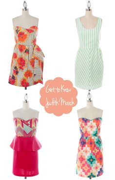 Probably Polka Dots: Made In the South: Judith March