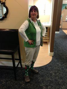 Mary, we love the socks