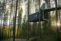 The Cabin Room at Tree Hotel, Sweden