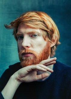 Domnhall Gleeson. Do let's celebrate Ireland and its bounteous gifts. I.E. Great actors, and handsome, fine red-haired blokes.