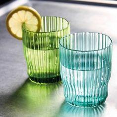 Set of 4 Riffle glasses by &k amsterdam via Klevering.com