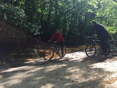 Tijdens een mountainbikeroute van Actief Twente