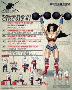 wonderful booty circuit 1 with wonder woman