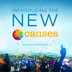 We're proud to announce the new Causes, an innovative way for you to discover, support and organize campaigns around the issues that matter to you.     Even better, we've made sure that when you decide to fight for justice, you're not doing it alone #SupporterNetwork    www.causes.com