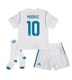 Real Madrid Luka Modric 10 Hemmaställ Barn 17-18 Kortärmad Gareth Bale, Ronaldo, Real Madrid, Sports, Tops, Sport, Shell Tops