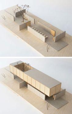 no / . - - Architecture - - New Ideas - vardehaugen.no / … – – architecture – - Maquette Architecture, Architecture Model Making, Wood Architecture, Contemporary Architecture, Sketch Architecture, Architecture Diagrams, Concept Design Architecture, Open Space Architecture, Layered Architecture