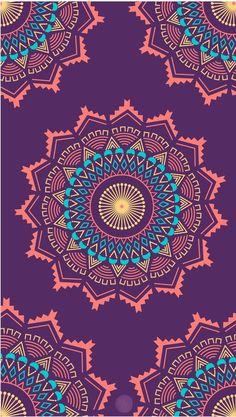 Etnic mandala uploaded by Dianafran on We Heart It Mandala Wallpaper, Paisley Wallpaper, Pretty Phone Wallpaper, Trendy Wallpaper, Cellphone Wallpaper, Screen Wallpaper, Cool Wallpaper, Pattern Wallpaper, Cute Wallpapers
