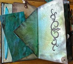 altered book - pages 3+4 by *carolion*, via Flickr