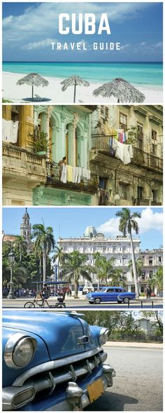 The perfect travel guide to Cuba for the perfect visit to this Caribbean island. Great suggestions on beaches, architecture, and Hemingway's old haunts and watering holes! What are you waiting for? Plan to travel to Cuba now!