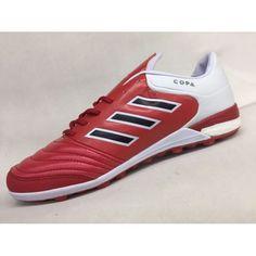 Chuteira Society Adidas - Chuteira Adidas Copa Tango 17.1 IN Vermelho Branco Novo