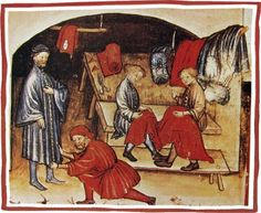 Photo: Medieval tailors