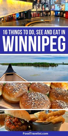 When you visit Winnipeg in the Manitoba province of Canada you will find so many things to do, see and eat it will make your head spin.  We're sharing just a few of our favorite things to do to make your visit a lot of fun.  You will be surprised by how many food choices, all the outdoor activities and most of all the friendliest people in the world.  #Winnipeg #OnlyInThePeg