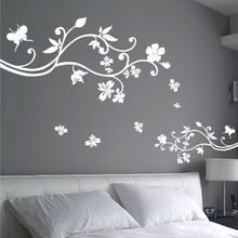 Free Shipping Wholesale And Retail Flowers Large Wall Stickers Wall Decals  Wall Covering Wall Paper Home