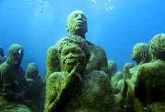 Cancun Underwater Museum, Mexico - (follow this pic for more Spectacular Places)