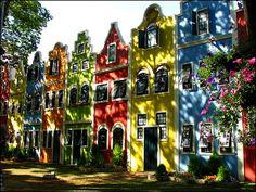 Colorful street of Holambra, São Paulo, Brazil ✯ ωнιмѕу ѕαη∂у