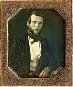 Heartthrob with Side Whiskers, 1/6th-plate Daguerreotype, Circa 1847 | Flickr - Photo Sharing!