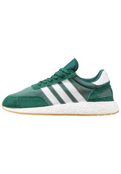 708bc40569 adidas Originals INIKI RUNNER - Trainers - collegiate green white for Free  delivery for orders over