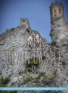 You'll enjoy a medieval adventure at Devin Castle in Slovakia on our Danube river cruise vacation! Perched atop a cliff these castle ruins now serve as a museum, don't miss the famous Maiden Tower, a Rapunzel-like prison tower. You'll enjoy archery and ot Cruise Vacation, Vacation Destinations, Dream Vacations, Vacation Spots, Vacation Travel, Places To Travel, Places To Visit, Danube River Cruise, Kenya Travel