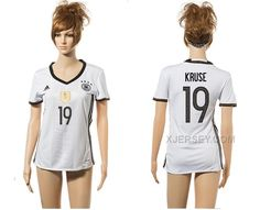 http://www.xjersey.com/germany-19-kruse-home-euro-2016-women-jersey.html GERMANY 19 KRUSE HOME EURO 2016 WOMEN JERSEY Only 33.11€ , Free Shipping!