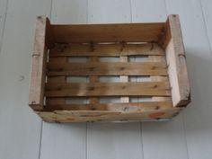 Vanha appelsiinikori puinen laatikko puuta 45 cm 28,-