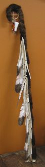 native american chairs | Native American Shaman Staff. Recreation of ceremonial staff used by ...