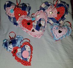 Handmade gifts crafted by disabled entrepreneurs and carers Hanging Hearts, Craft Gifts, Christmas Ornaments, Handmade Gifts, Holiday Decor, Crafts, Home Decor, Handcrafted Gifts, Xmas Ornaments