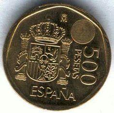 500 pesetas.