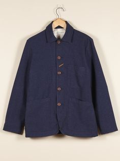 Universal Works Indigo Bakers Jacket