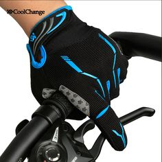 Coolchange Autumn Sport Gloves Cycling Bicycle Full Fingers Gloves Wear-resistant Breathable MTB Bike Gloves Luvas de ciclismo